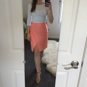 Floral pencil skirt from j. Crew